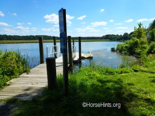 Image: CopyrightHorseHints.org/CopyrightHorseHints.org/Mallows Bay Boat Ramp