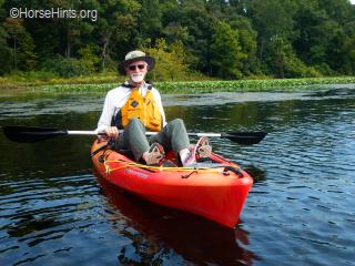 Image: Copyright HorseHints.org/Kayaking Occoquan Regional Park/Bill